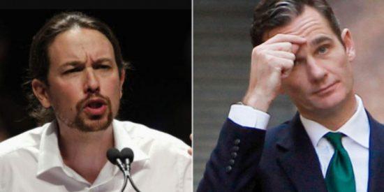 El juez confirma la peor pesadilla de Iglesias y Podemos con su decisión sobre Urdangarin