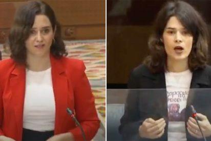 """Vibrante repaso de Ayuso a la podemita Isa Serra: """"¡Convierten en ruina todo lo que tocan! ¡Sinvergüenzas!"""""""