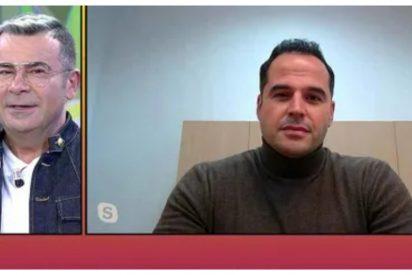 Jorge Javier Vázquez hace el ridículo entrevistando a Aguado e intentando atacar a Díaz Ayuso