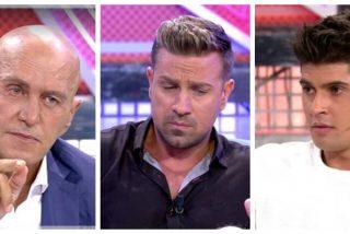 Kiko Matamoros, Rafa Mora y Javier Tudela rozan la ilegalidad y la vergüenza ajena en el 'Deluxe'