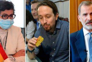 Iglesias le come la tostada a González Laya y se cuela en la Conferencia de Embajadores que liderará Felipe VI
