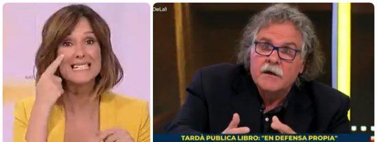 'Isobaras' Mónica López cede TVE a Tardà para lanzar un alegato a favor de amnistiar a los golpistas catalanes