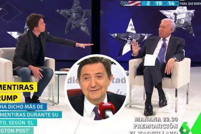 """Losantos ahonda en el bochorno de Errejón, 'apaleado' por Margallo en laSexta: """"¡Odio a los pijos comunistas!"""""""