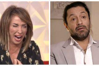 Nunca has visto nada igual: Rafael Amargo insultando como un loco a María Patiño en 'Socialité'