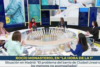 Aquelarre contra Rocío Monasterio (VOX) en TVE: Mónica López y sus tertulianas la acosan a la vez