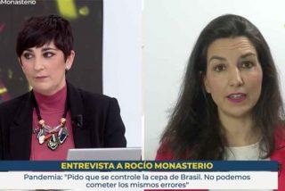 """Monasterio silencia a la tertuliana de TVE obsesionada con la monarquía: """"¿Cree que con esta crisis toca discutir eso?"""""""