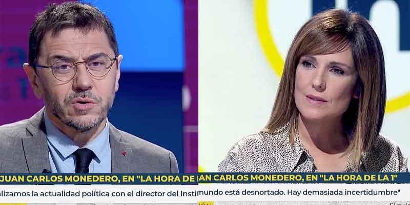 Monedero en TVE, crónica de una catástrofe: los espectadores, aburridos y el podemita, satisfecho