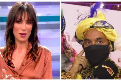 Patricia Pardo se merienda a Luis Rollán por su vergonzosa aparición como Rey Mago en un centro comercial