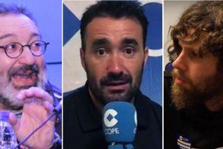 "Un tertuliano se revuelve contra Pérez de Rozas en COPE: ""¡A mí no te me pongas chulito, llevo mucho aguantándote!"""
