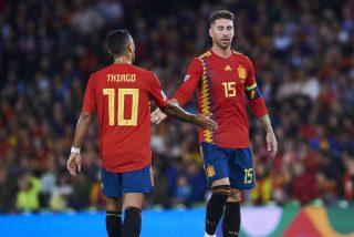 Sergio Ramos y Thiago 'fichados' en el equipo para los usuarios de la UEFA