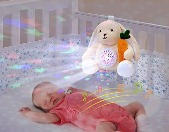 Peluche de conejito para bebé