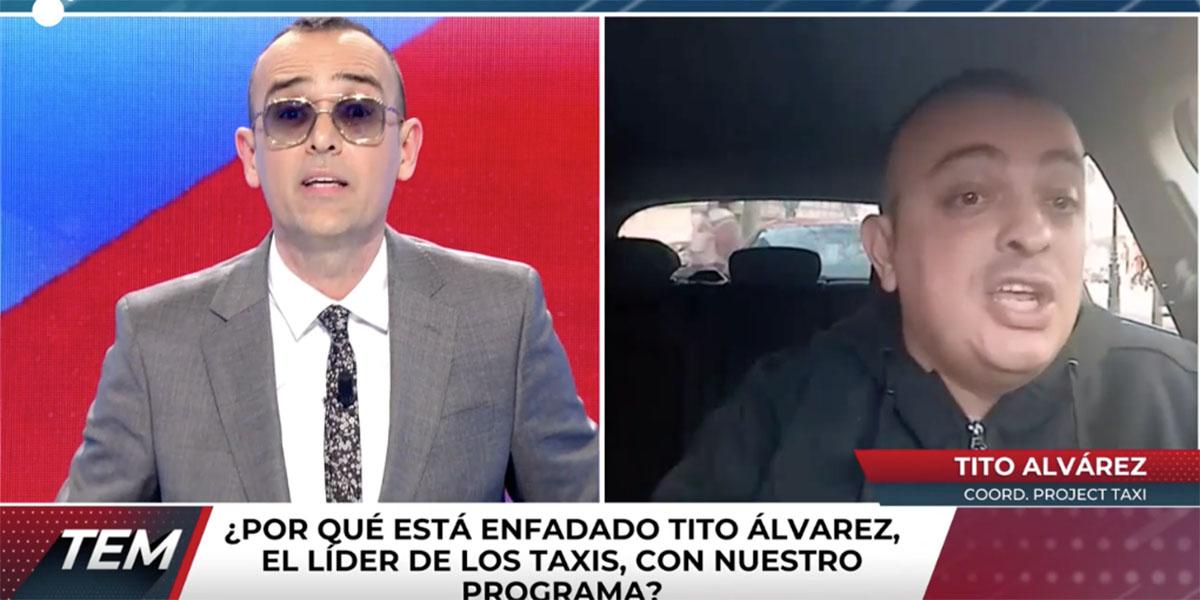 """El Risto Mejide más chulo resucita contra el líder de los taxistas: """"¡Ahora mismo te vas a retractar!"""""""