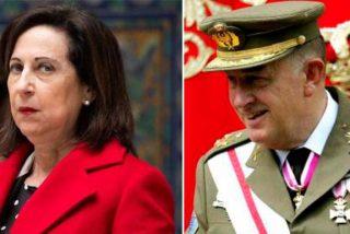 El teniente general, que alertó a Felipe VI del peligro democrático del PSOE-Podemos, le planta cara a Robles