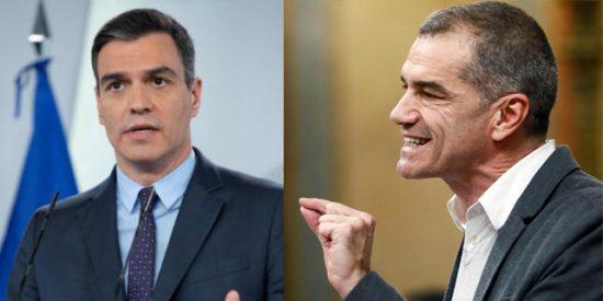 """Sánchez tilda a Trump de """"extremista"""" y Toni (le) Cantó las 40: """"Tienes la cara más dura que el hormigón"""""""