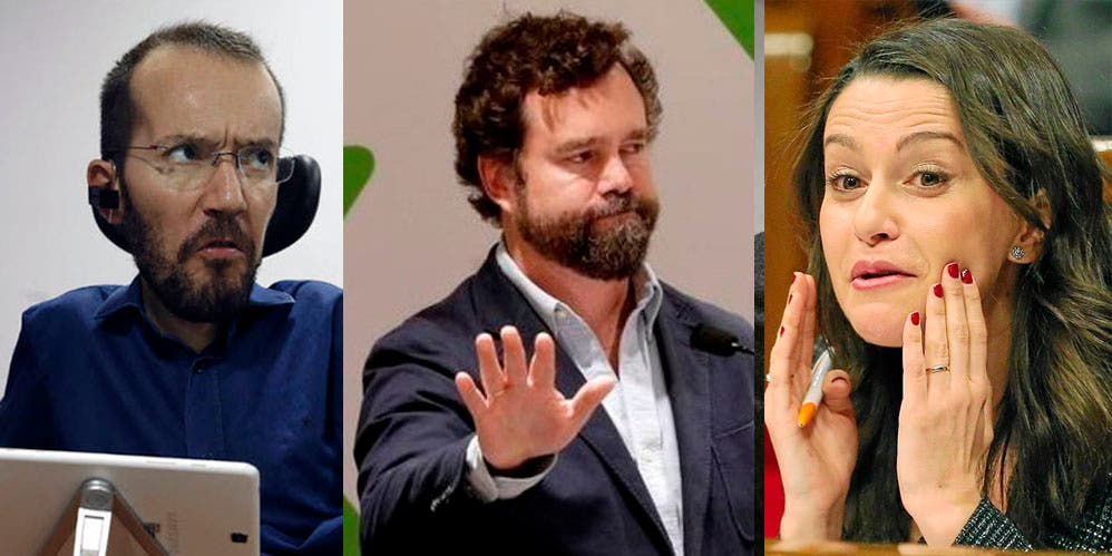 """De los Monteros (VOX) destroza el bulo 'revolucionario' de Echenique: """"Pero si eras afiliado de Ciudadanos..."""""""