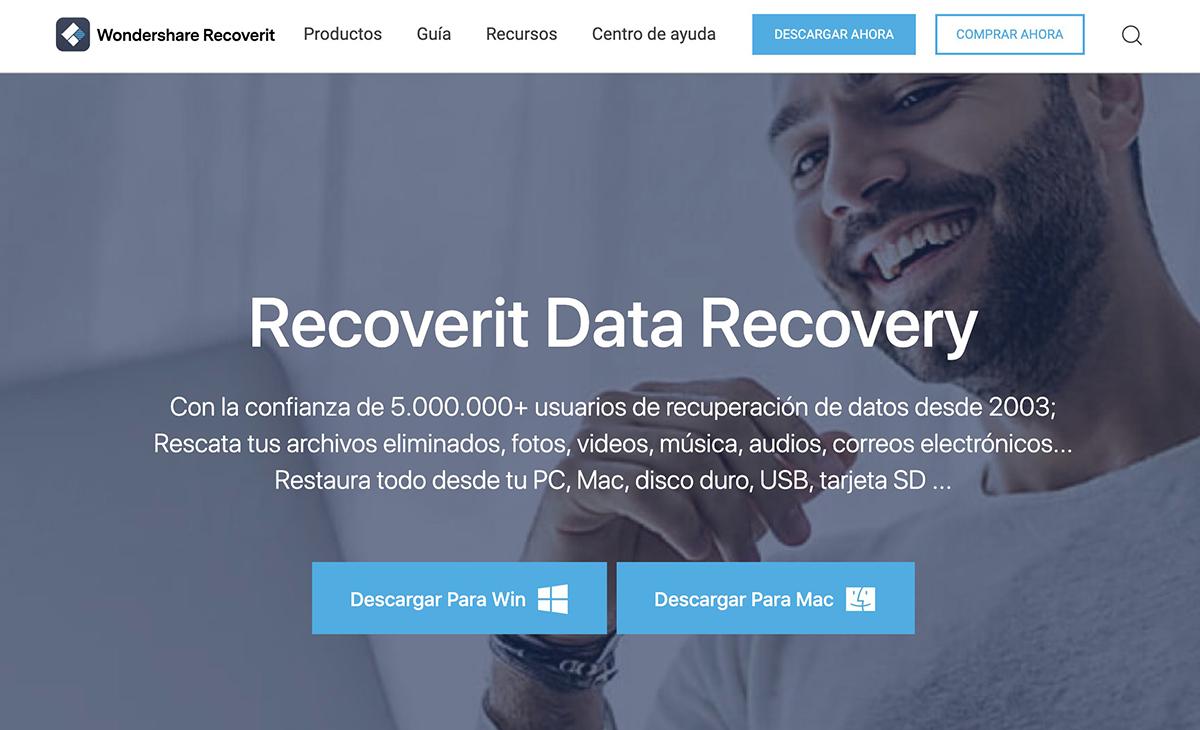 Wondershare Recoverit: recupera tus archivos con garantías