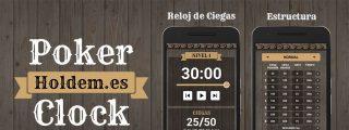 Holdem.es desarrolla la aplicación Poker Clock para organizar partidas en casa