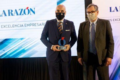 El diario La Razón premia a los gestores administrativos de Madrid por su apoyo a la pyme