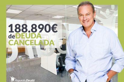 Repara tu Deuda Abogados cancela 188.890 € en Barcelona con la Ley de Segunda Oportunidad