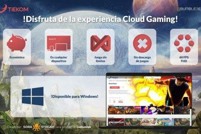 Tiekom apuesta por la tecnología de Ludium Lab para ofrecer cloud gaming en su plataforma