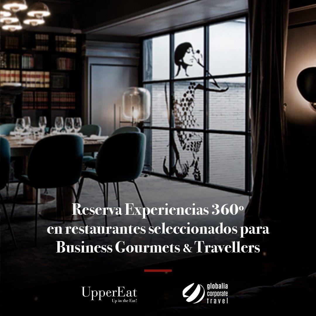 UpperEat ofrece los restaurantes de su plataforma digital a los 9.000 clientes de Globalia Corporate Travel