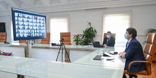 Mañueco anuncia que Castilla y León contará este año con un nuevo Plan de Internacionalización empresarial