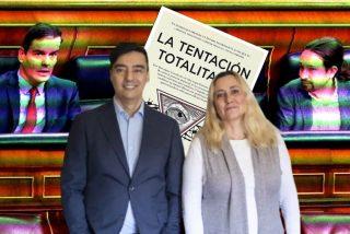 """Almudena Negro y Jorge Vilches: """"Para la izquierda somos libres si cumplimos con lo que nos impone Pedro Sánchez"""""""