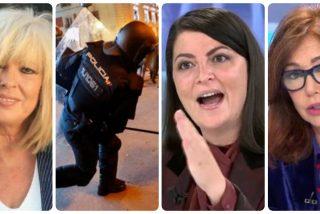 Artal vomita bilis contra la Policía, Olona (VOX) y los medios por criticar la censura podemita
