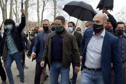Vídeo: Santiago Abascal (VOX) se harta de las amenazas de muerte y se encara con los fascistas independentistas