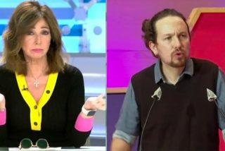 """Ana Rosa Quintana: """"Me he sentido amenazada por Pablo Iglesias"""""""
