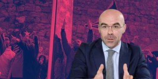 """Jorge Buxadé: """"En ningún lugar de Europa existe la violencia que vimos contra VOX"""""""