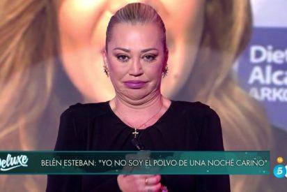 """La vulgar respuesta de Belén Esteban a María José Campanario: """"Yo no he sido un polvo de una noche"""""""