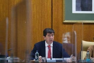 Juan Marín se jacta de haber finiquitado 55 chiringuitos socialistas desde que entró el Gobierno del cambio en Andalucía