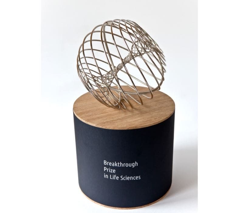 Breakthrough Prizes trofeo