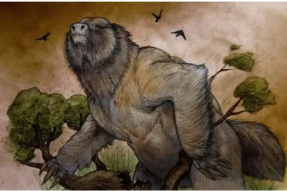 Las evidencias de la existencia de un perezoso ancestral tan grande como un elefante