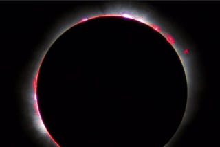 El impresionante mapa del campo magnético del Sol
