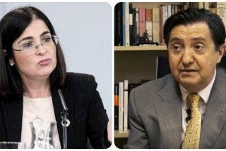 """Losantos 'borra' el apodo a Carolina Darias por el """"soplamocos"""" al líder del PSOE en Madrid a cuenta del 8-M"""