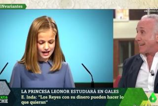 """Inda pone firme a la progresía: """"El colegio de Leonor costará 17.000 € menos que la niñera de Podemos"""""""
