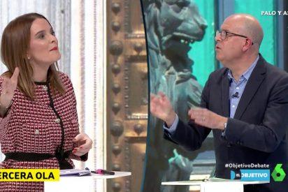 """El chulo de bar del PSOE llama """"almacén"""" al Hospital Zendal mientras Sánchez sigue ocultando muertos"""