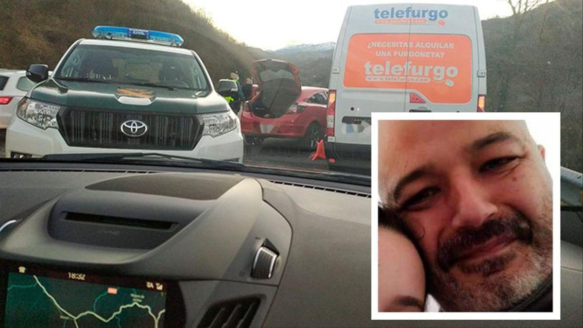 Muere un guardia civil de tráfico arrollado por una furgoneta en un control de carretera