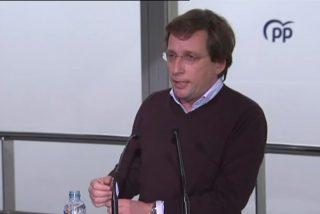 """El alcalde Almeida se cachondea de Pablo Iglesias: """"Viene con la niñera"""""""