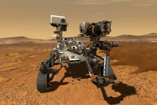 El rover Perseverance de la NASA avanza hacia la primera zona de investigación en Marte