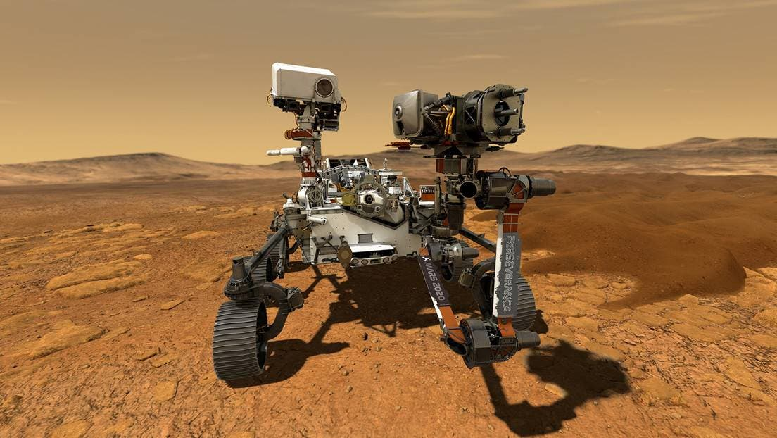 El rover Perseverance demuestra el pasado acuático del cráter Jezero de Marte