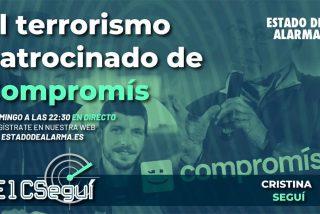 """El CSEGUÍ con Cristina Seguí: """"El Compromís de Oltra y Ribó incentivan el terrorismo callejero"""""""