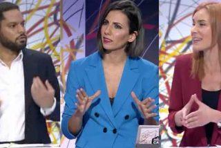 """Todas contra Ignacio Garriga (VOX) con la complicidad de Ana Pastor: """"Negacionista de la pandemia"""", """"fascista"""", """"machista"""""""