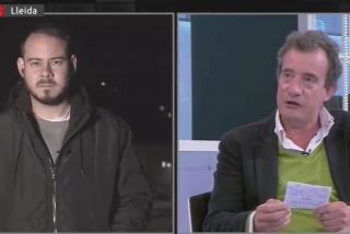 """Pablo Hasel saca a paseo su baja estofa en TV3 con este insulto a Javier Gállego: """"Eres un criminal"""""""