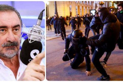 """Herrera sobre los violentos seguidores de Hasel: """"Es chusma alentada por el despojo intelectual de Echenique"""""""