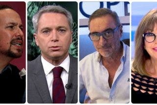 Iglesias amenaza desde el Congreso la libertad de expresión de Vallés, Herrera y Quintana