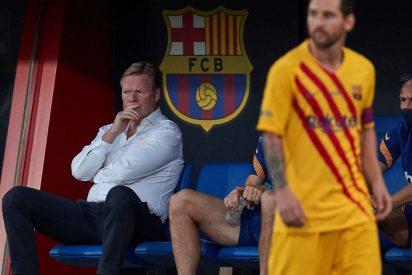 Las potentes declaraciones de Koeman sobre el futuro de Lionel Messi