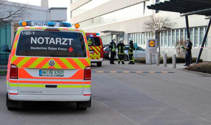 Un paquete bomba explota en la central del Lidl en Alemania